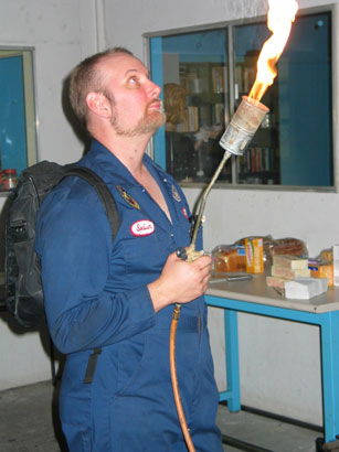 The Flamethrower at the 2003 GCI.